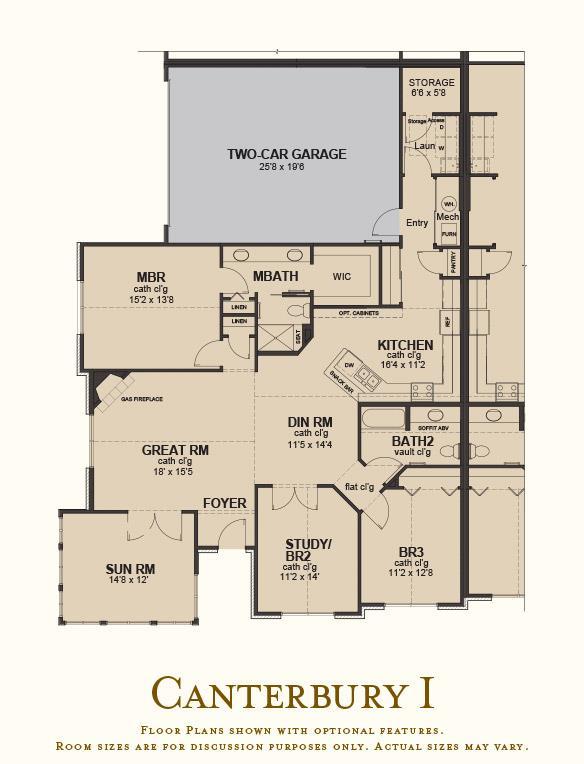 The Villas at Canandaigua floor plan