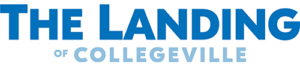 the landing of collegeville logo