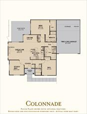 The Villas at Canandaigua Colonnade floor plan