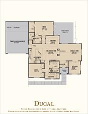 The Villas at Canandaigua Ducal floor plan