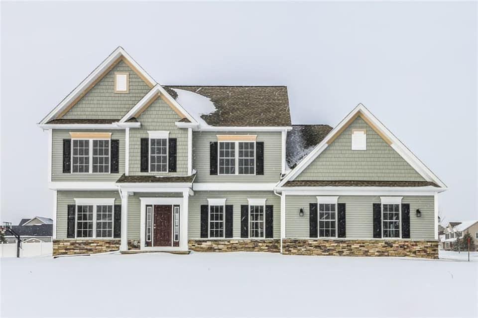 Fieldstone Estates 2396 sq ft Model Home
