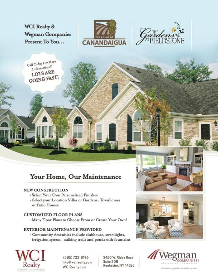 Rochester Home Builder Ad