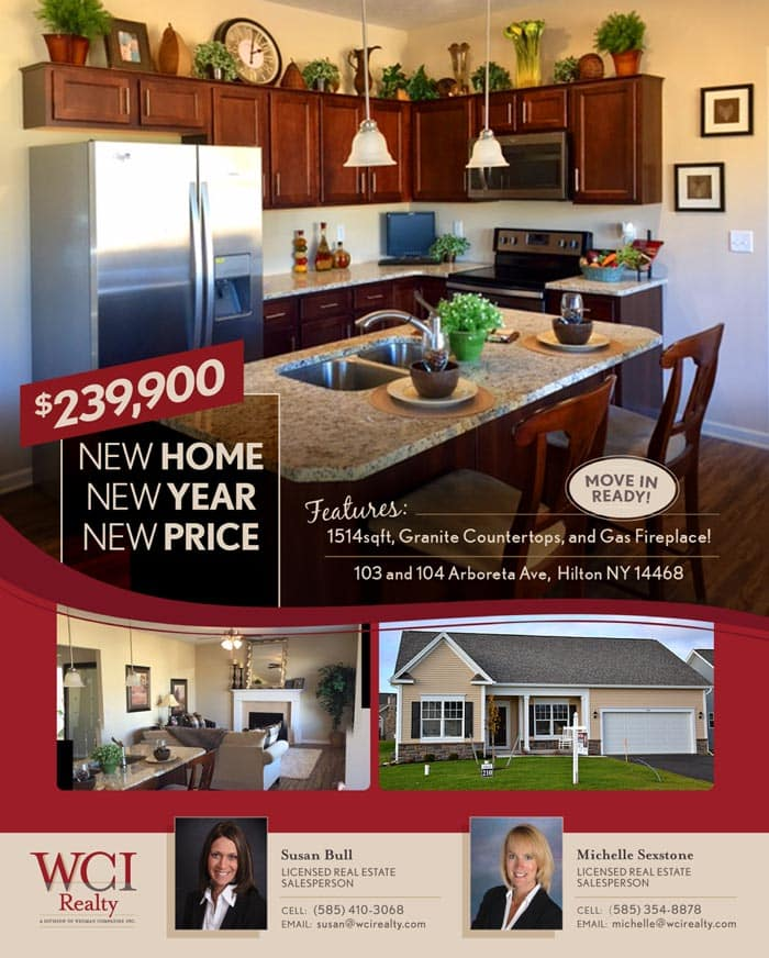 WCI Realty price reduction