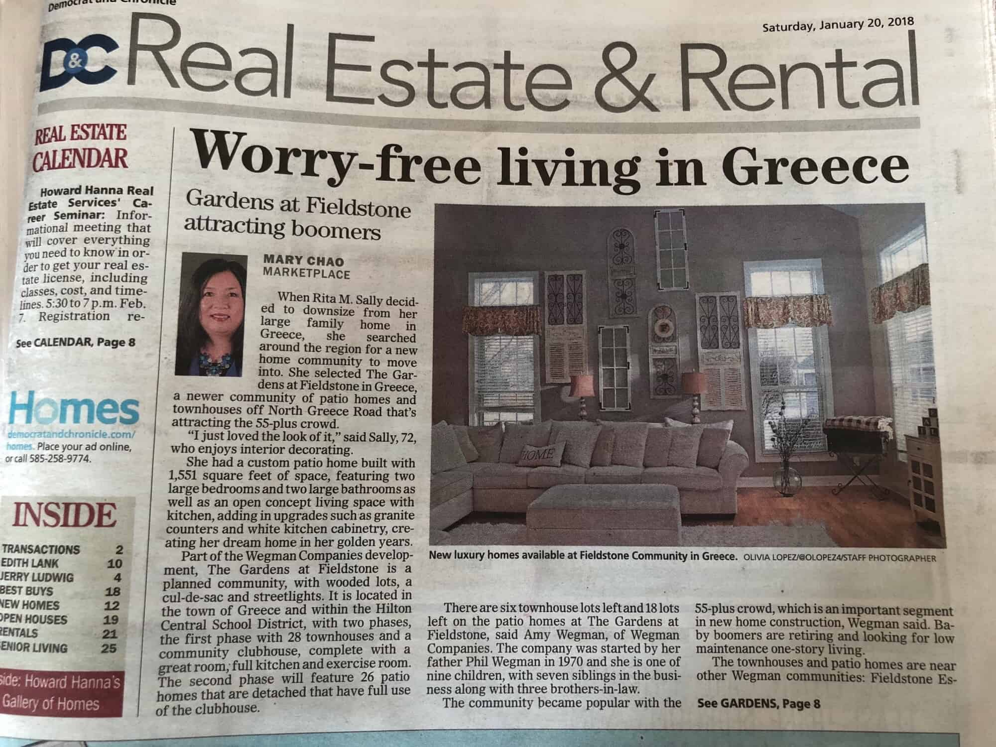 Worry-free living in Greece