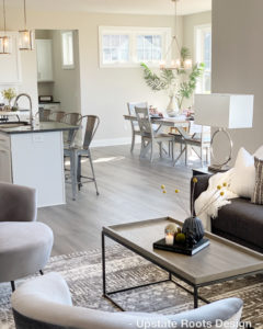 Furnished Model Home by Gardens at Fieldstone