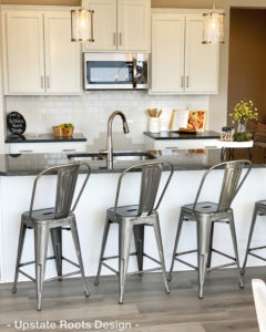 Furnished Model Home by Upstate Roots Design